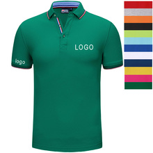 Custom embroidery or print logo personalized summer overalls polo shirts-Free design typography-