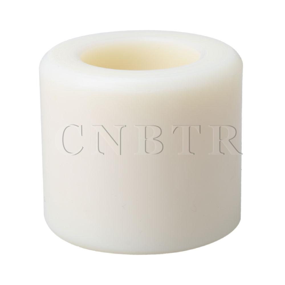 CNBTR Wear Resistant 80x70mm Nylon Hand Pallet Truck Load Roller Wheel White
