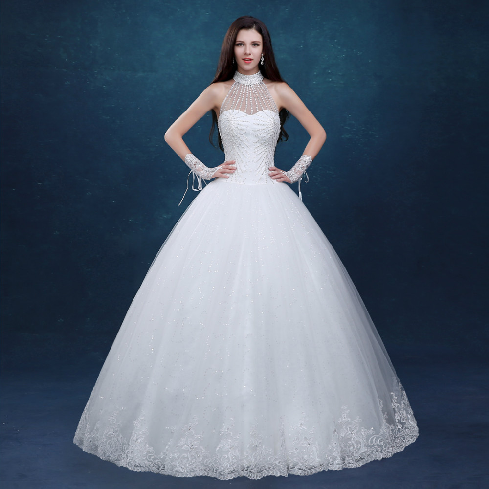 Halter Ball Gown Wedding Dresses | Dress images