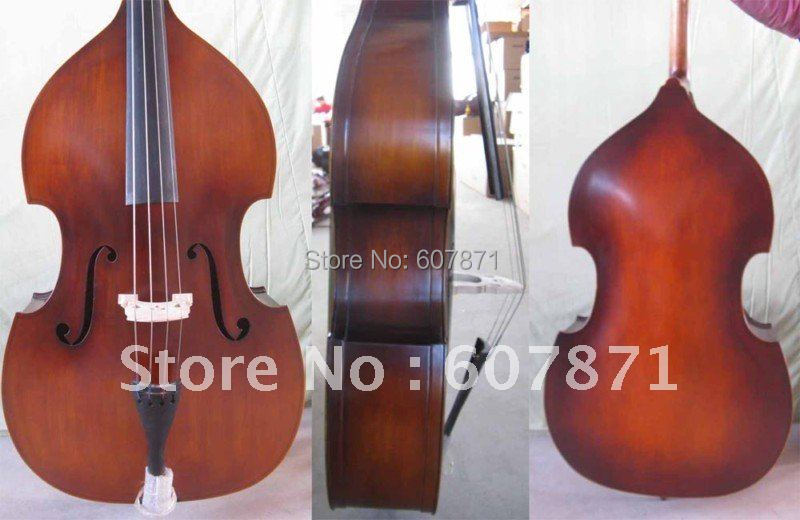 New 3/4 UPRIGHT Double Bass Baroque model Nice tone
