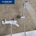 LEDEME Смеситель для душ.кабины латунь Цвет: белый L2003W