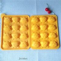 Moldes De Silicone Rendas Para Bolo 12 holes food grade silicone cake mold Lollipop cake mould with stick