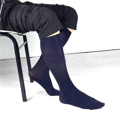 Free shipping Mens socks business suits breathable socks black stockings elastic stocking male gentleman dress sexy mens socks