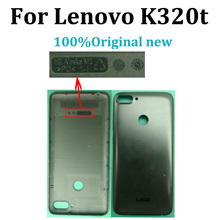 Original new For Lenovo K320T Housing Battery Back Cover Rear Door For Lenovo K320 T back Battery Cover Replacement Parts