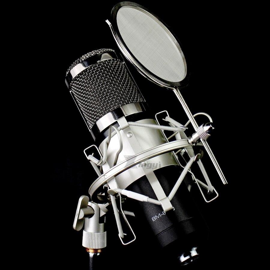 Araignée Microphone Stand Shock Mount Mic Isolement Bouclier Pare-Brise Pop Filtre Antichoc Pour Bleu Spark NUMÉRIQUE Bluebird Studio