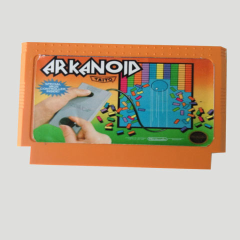 Top Quality Game Cartridge 60 Pins 8 Bit Integrated Game Card Better Than Bean Card — Arkanoid