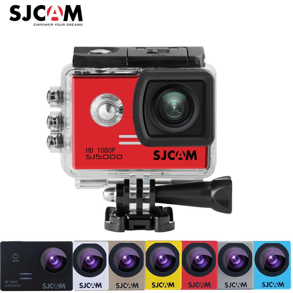 100% Original SJCAM SJ5000 2'' Screen NTK 96655 30M Waterproof Underwater Outdoor Action Sports Camera Car Mini DVR