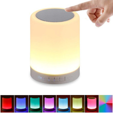 Bluetooth динамик с TF/USB/SD Мини bluetooth динамик портативный беспроводной динамик звуковая система светодиодный светильник
