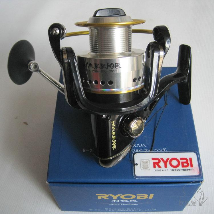 ФОТО RYOBI fishing reel warrior(ECUSIMAs updated) 1000-8000 spinning reel metal lure fishing reel