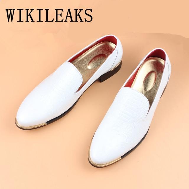 eb821b9080a3d Wysokiej jakości buty męskie ze skóry lakierowanej skóry krokodyla czarny  buty klasyczne buty oxford buty ślubne