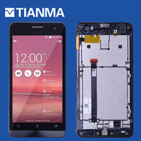 NEW 5 1280x720 Pixel Screen For ASUS Zenfone 5 LCD Display Touch Screen With Frame Digitizer