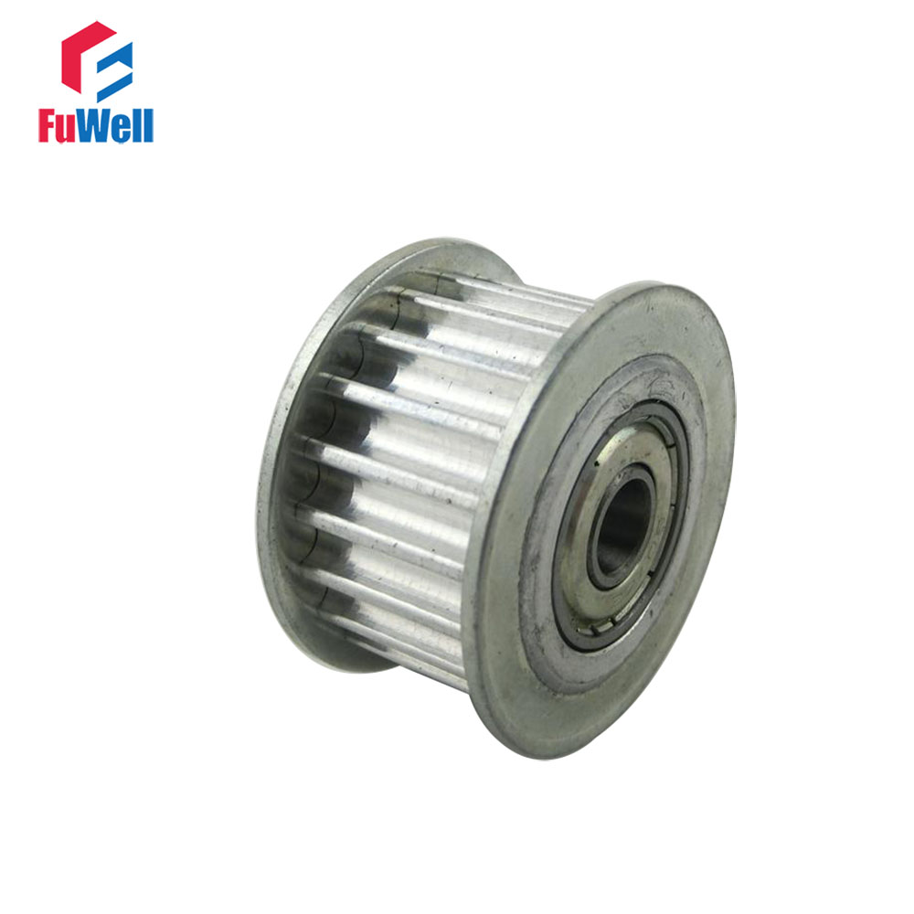 HTD5M 40T Timing Idler Pulley 16/21/27mm Belt Width Bearing Synchronous Wheel 40 Teeth 10/15/17/20/25/30mm Bore Idle Belt Pulley