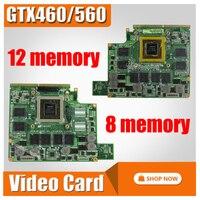 MXMIII VGA Video Card Graphic card GTX 560M GTX560M GTX460M GTX 460M card G73SW VGA board for ASUS G73SW G73JW G53SW G53SX G53JW
