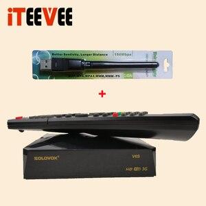Image 4 - SOLOVOX S V6S استقبال الأقمار الصناعية المسرح المنزلي HD دعم M3U CCAM TV Xtream استقبال الأقمار الصناعية USB واي فاي الخيار من إسبانيا