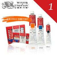 Freeshipping Windsor Newton obraz olejny w kolorze 45 ml/170mlx55 o kolorze aluminium farby olejne zestaw pojedynczy w Farby olejne od Artykuły biurowe i szkolne na