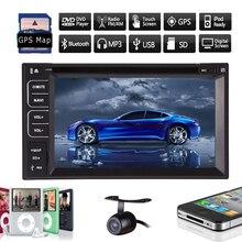 Autoradio Car DVD Player Electronics MP3 TV 6.2″ Touchscreen Stereo GPS Map Radio Camera Audio Logo In Dash Accessory