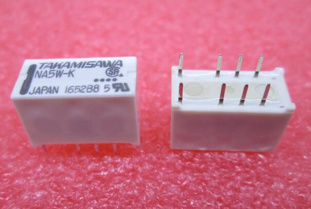 HOT NEW relay NA5W-K NA5WK NA5W 5W-K 5VDC dc5v TAKAMIS DIP8 hot new relay hf6 73 5v hf6 relays 5v 5vdc dc5v 5v sop 2pcs lot