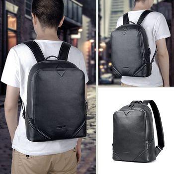 b8a37df8cda6 Array Spring and summer new shoulder school bag Genuine leather female  backpack women s fashion wild backpacks