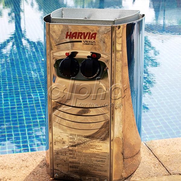 Ce ohne Bedienfeld Bc30e 3kw Original Harvia Saunaofen Vega Kompakte Externen Gesteuert