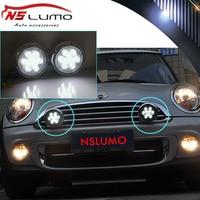 18W High Power DC12V Canbus LED DRL Daytime Running Light Halo Fog Lamp Kit For Mini