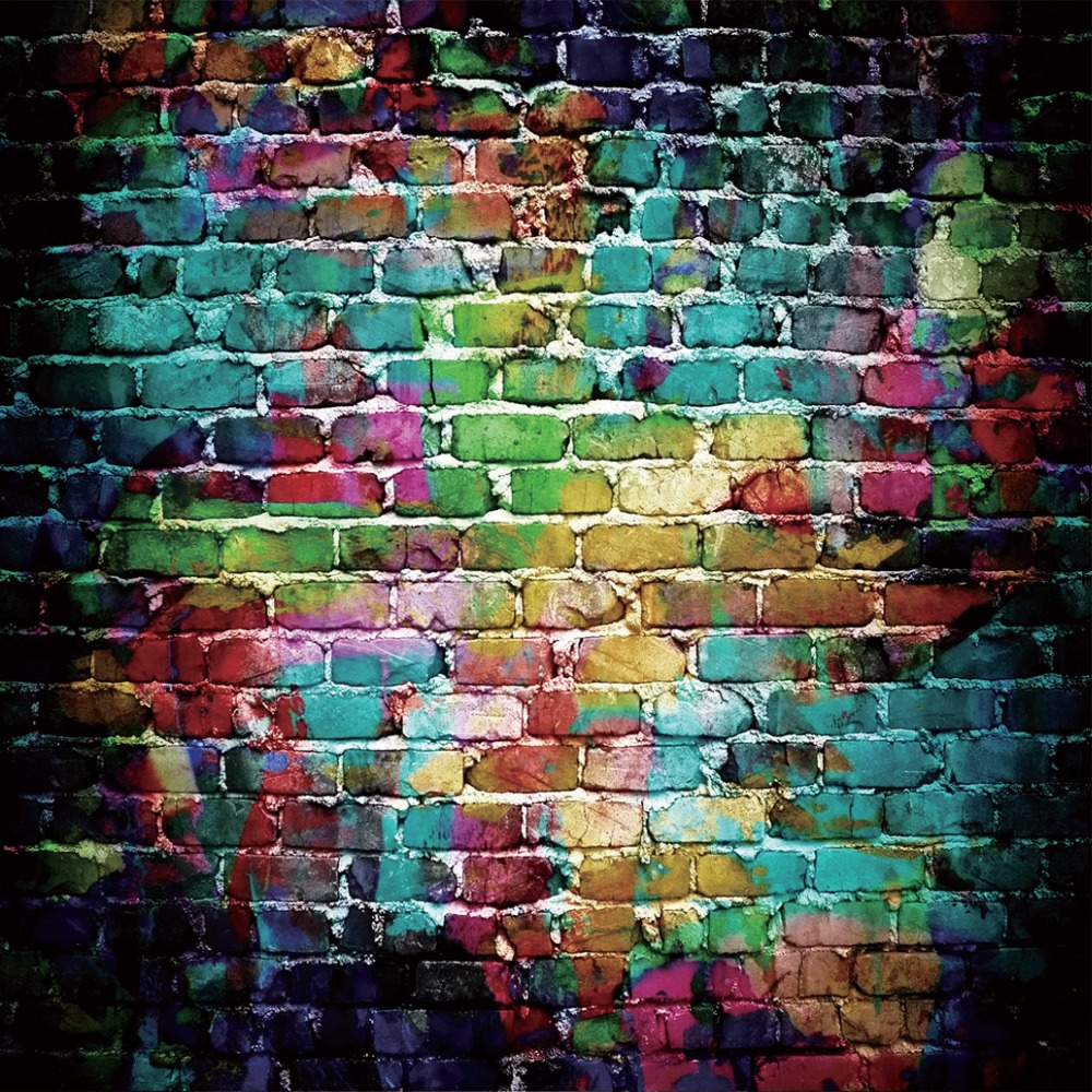 Graffiti wall vinyl - Graffiti Wall Theme