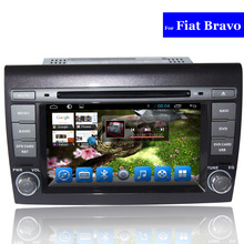 2 Din Android Car DVD Player for Fiat Bravo Radio Bluetooth GPS Navigation TV 3G WIFI AUX USB SD Touch Screen Car Stereo