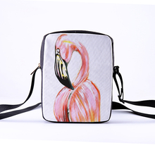 CROWDALE Women Messenger Bags 23x17x5cm 3D-Denim Animal Shoulder Bag Handbags toucan Children Crossbody Bag handbags forudesigns soy luna girl messenger crossbody bag princess children handbags tv show shoulder bags custom made bandolera hombre