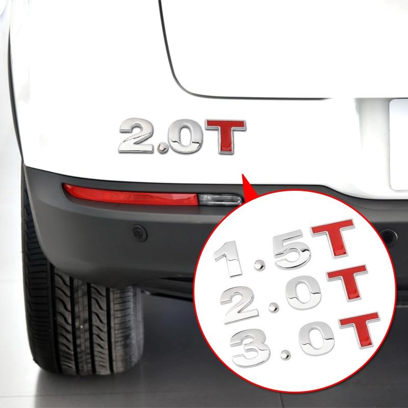 Автомобильный Стайлинг автомобиля 3D Металл 1.2L 1.4L 1.5L 1.6L 1.8L 2.0L 2.4L 3.0L логотип наклейка эмблема значок наклейки для Lada Toyota Mazda Opel и т. Д.