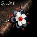 Special nueva moda collares y colgantes de piedra natural sea shell maxi choker collar para las mujeres niñas xl141146
