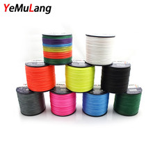 YeMuLang Multifilament Braided Fishing Lines 4 Strands 300m PE Wires Line Cord Fishing Pesca For Fly Fishing Thread Accessories