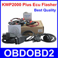 Hot Selling KWP2000 Plus OBDII OBD2 ECU Chip Tuning Tool KWP 2000 ECU Plus ECU Flasher Smart Remapping Decode Free Ship