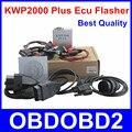 Venta caliente OBDII OBD2 KWP2000 Plus ECU Herramienta de Adaptación de la Viruta El ECU Más Interruptor Intermitente KWP 2000 el ECU Reasignación de Decodificación Inteligente Libre nave