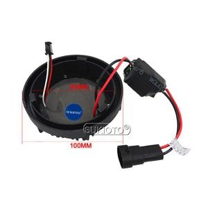 Image 3 - SUKIOTO Car Headlight 9012 HIR2 Xenon CANBUS Kit 55W H1R2 9012 6000K hi/lo bixenon Projector bulbs NO Error Edge HID Headlamp
