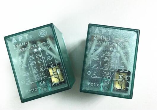 HOT NEW Intermediate 24V relay APT ZY4N J DC24V ZY4N J DC24V APTZY4N J ZY4NJ DC24V