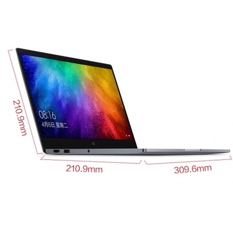 Original Xiaomi Mi Notebook 13.3 Inch Air Quad-Core 8G ram 256G ssd  Fingerprint Recognition Intel i7-8550U/i5 -8250U Windows 10