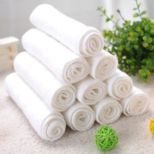 Newborn cotton absorbent diapers Newborn repeated washing diapers Baby soft skin-friendly repeated diapers(China)
