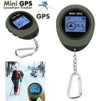 Mini GPS Tracker Tourist Navigator Device Travel Portable Keychain Locator Pathfind Motorcycle Sport Handheld Keychain