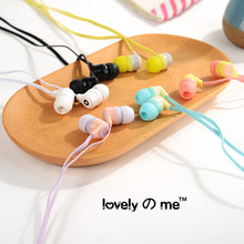 New Portable In Ear Earphone Sport Music Stereo Headset with Mic for Smartphone with Lovely Storage Box Gifts for Friends #UO