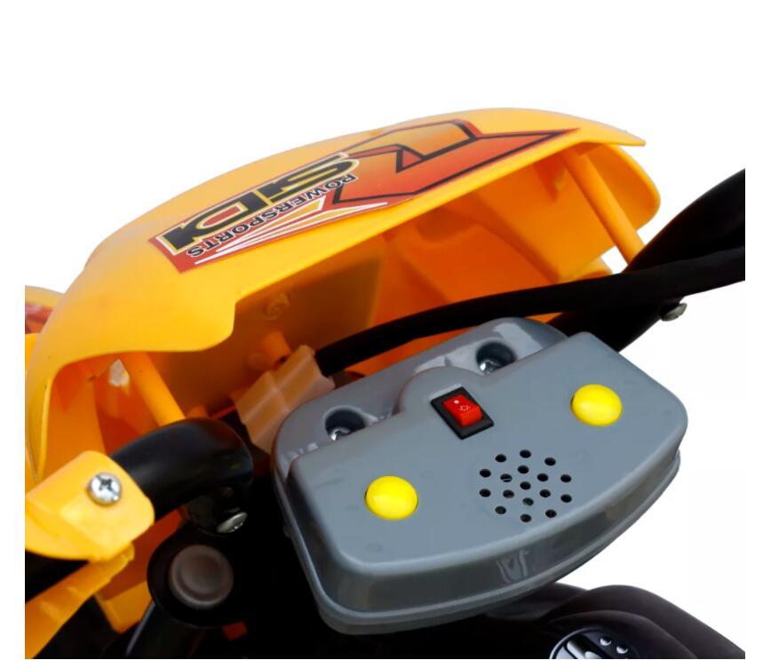 Moto éLectrique Pour Enfants Jaune monter sur les voitures Enfants Moto éLectrique Enfants apprentissage éducation Mini vélo cadeaux Pour Enfants - 3