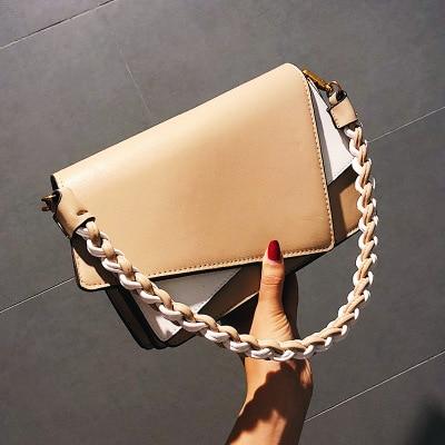 2018 Fashion Luxury Handbags Women Bags Designer Vintage Chain Small Crossbody Bags for Women Messenger weaving Shoulder Bag