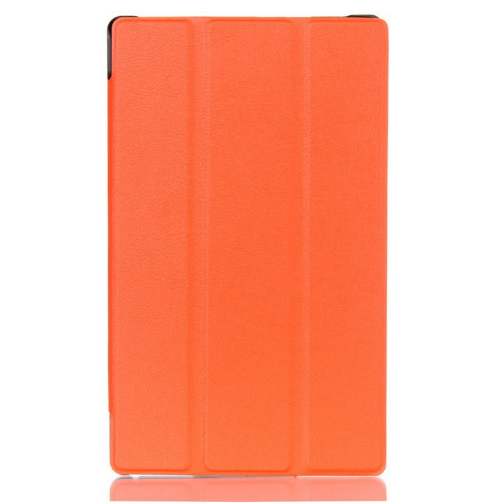Galleria fotografica 100Pcs PU Leather Cover Stand Case for Lenovo tab2 A8 (tab 2 A8-50 A8-50F A8-50LC) 8
