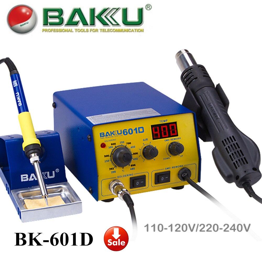 BAKU BK-601D Digital Rework Station , Air Hot Gun And Solder Iron In 1 . High Quality.