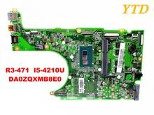 Original for ACER R3-471 laptop motherboard R3-471TG I5-4210U DA0ZQXMB8E0 tested good free shipping