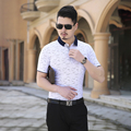 White/Gray Summer Men Polo Shirt High Quality Cotton Short Sleeve Slim Fit Polo Homme 2016 New Plus Size Mens Polos 5XL-M