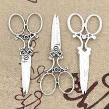 5 шт Подвески швейные ножницы 61 х 25 мм Античная решений Подвеска