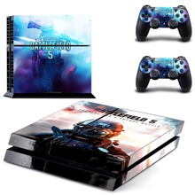 Battlefield 5 PS4 Skin Sticker for Sony PlayStation 4 Console and 2 controller skins