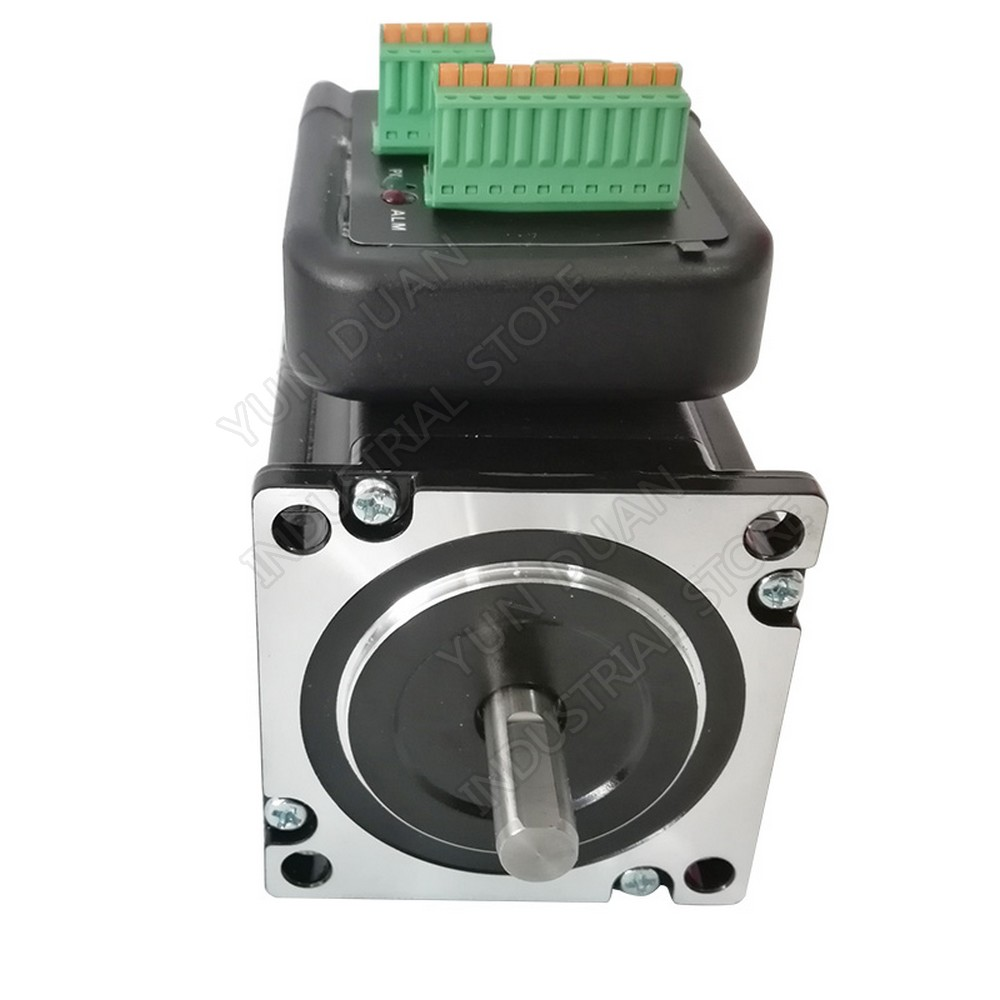 1.9Nm NEMA23 57mm 272Oz.in Integrated stepper motor driver all in one 2phase 2.5A 8mm shaft1.9Nm NEMA23 57mm 272Oz.in Integrated stepper motor driver all in one 2phase 2.5A 8mm shaft