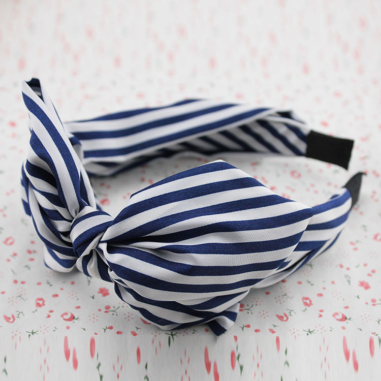 Snow spins cloth art to bow hair hoop, free home delivery korean hair jewelry bow hair hoop headband free home delivery