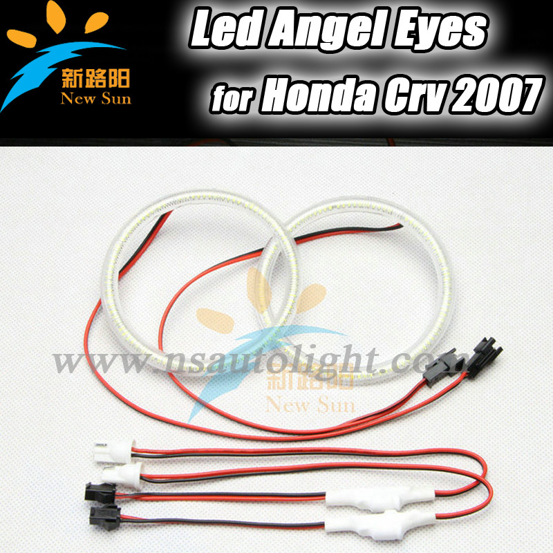For Honda CRV 102 SMD Led Angel Eyes fog lights, 2013 New Design 105mm led angel eyes rings for Honda CRV 2007 Free Shipping