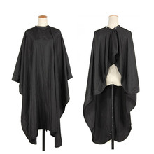 1Pc Pro Hair Cut Hairdressing Cape Barbers Salon Black Waterproof Hairdresser Gown Wrap Cloth Hairstyling Tools Hot